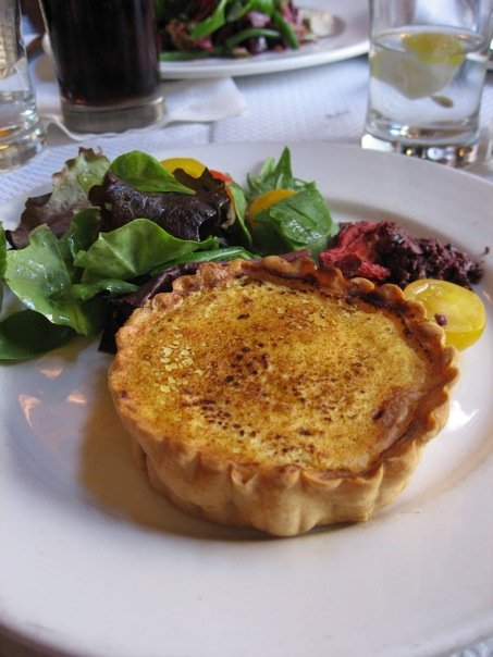 Warm Goat Cheese and Caramelized Onion Tart – Anniespickns ...