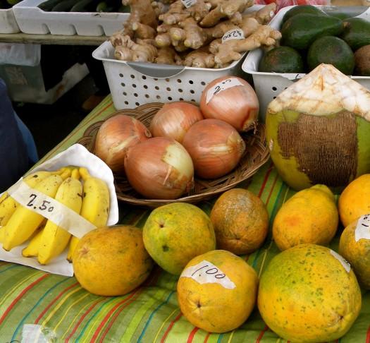 Shopping The Farmers' Markets In Lihue, Kauai