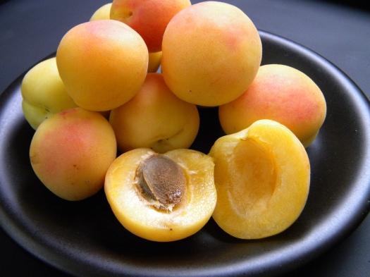 white apricots