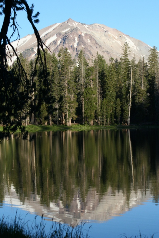 Mt Lassen reflection